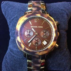 Michael Kors Chronograph Turtle Lady's Watch